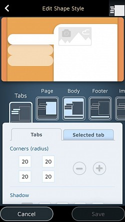 Customize the way your tabs and pages look.